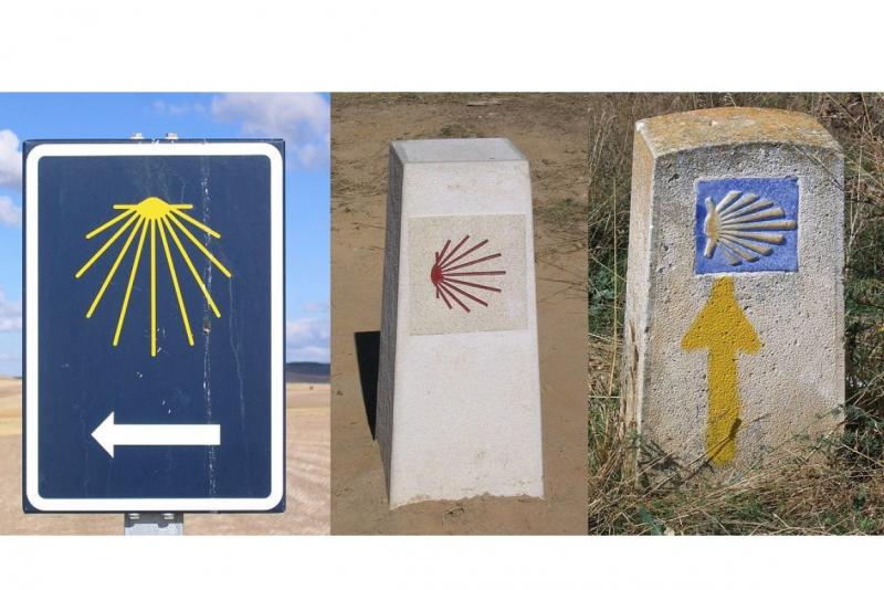 Camino Francés (Spain): Way marking